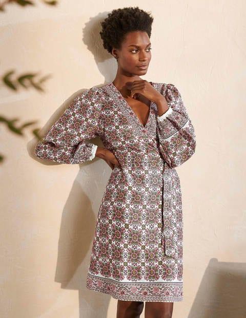 Bridget Belted Linen Dress