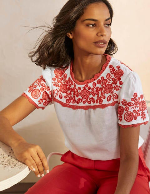 Cornelia Embroidered T-Shirt
