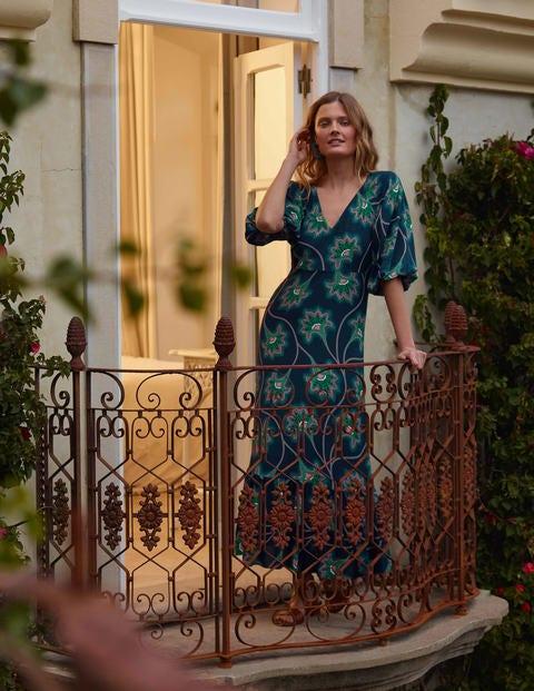 Claire Maxikleid mit Stufen