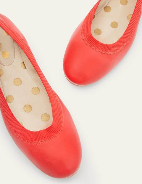 Hettie Flexi Ballerinas - Red