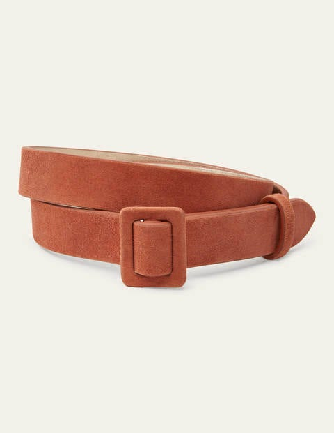 Skinny Belt - Copper Red