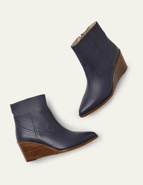 Grafton Boots - Navy