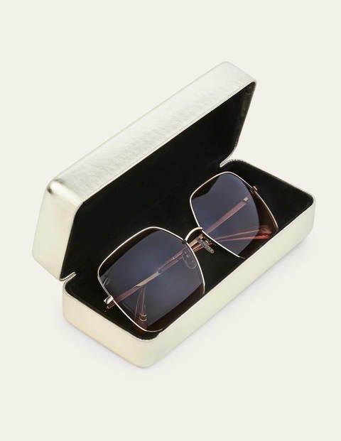 Corsica Sunglasses - Green/Pink Grad