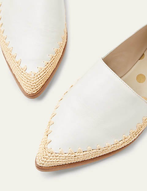 Penelope Loafers - Ivory