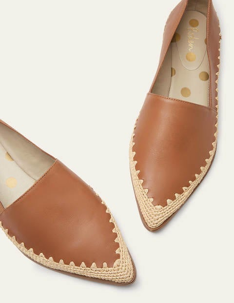 Penelope Loafers - Tan