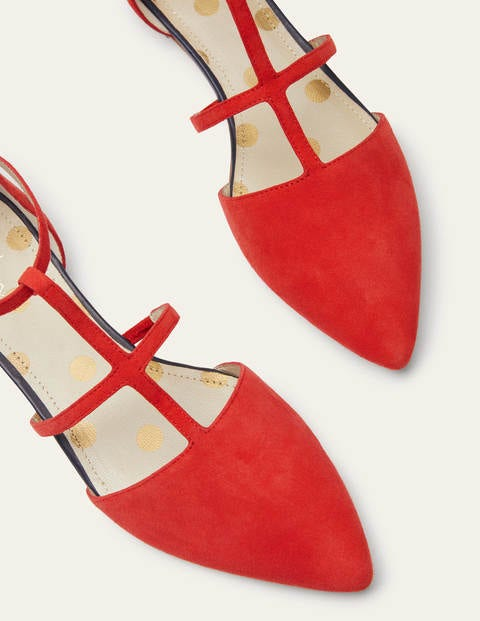Mila Flats - Cherry Red