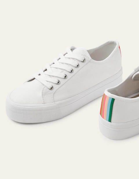 Natasha Sneakers - White