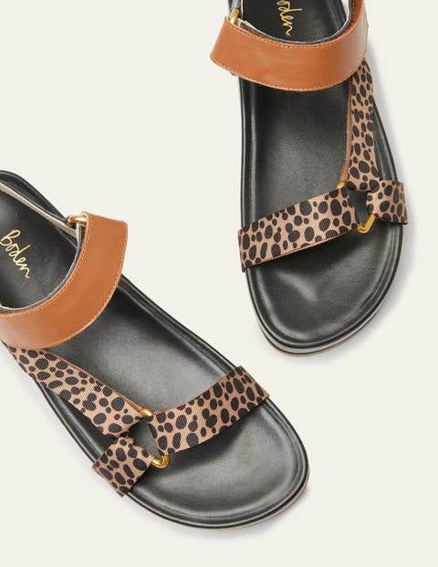 Philomina Sandals - Leopard