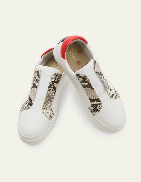Clea Sneakers - White/Snake
