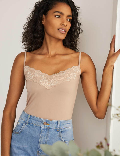 Lace Cami - Soft Sand