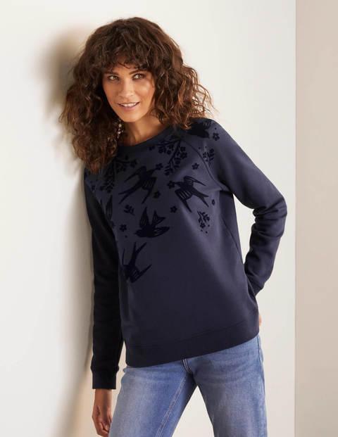 The Sweatshirt - Navy, Magical Bird Placement