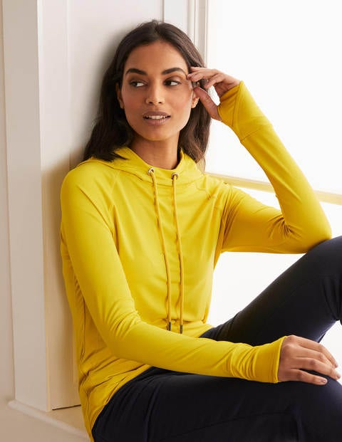 Leah Active Hoodie - Chartreuse