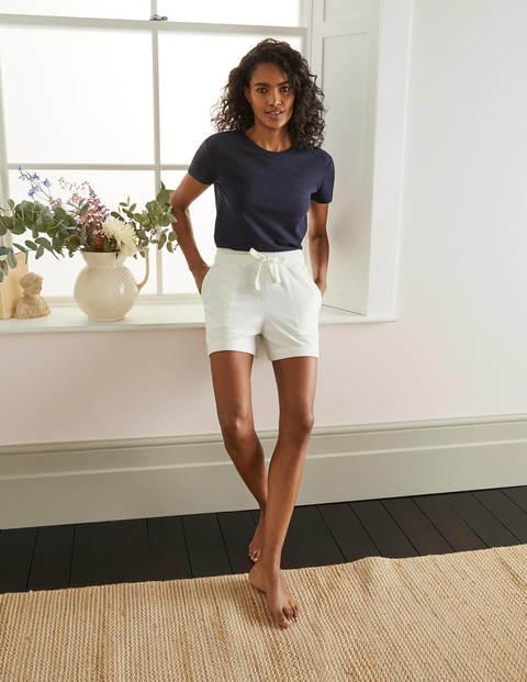 Thelma Jersey Shorts - Ivory