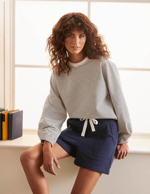 Thelma Jersey Shorts - Navy
