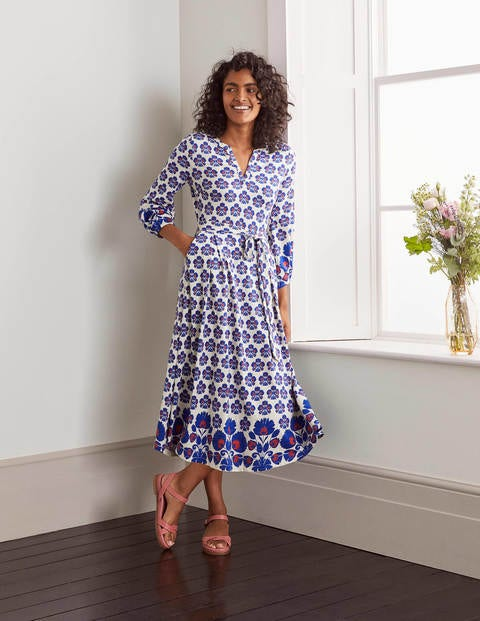 Delilah Jersey Midi Dress