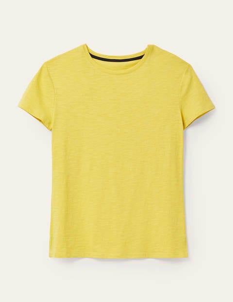 Das Boyfriend-T-Shirt aus Baumwolle
