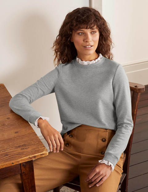 Holly Jersey Sweatshirt - Grey Marl