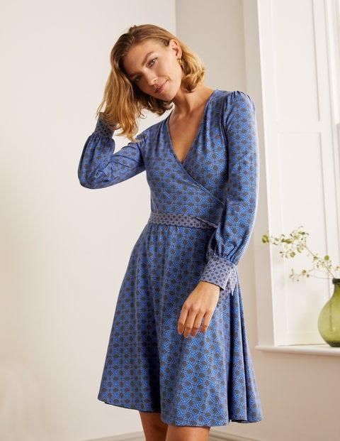 Edie Jersey Wrap Dress