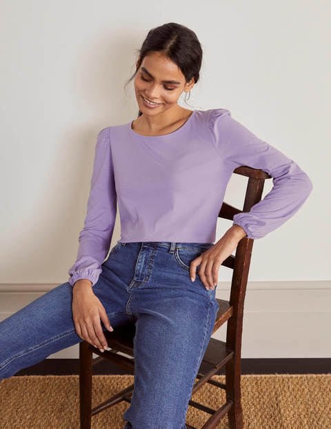Supersoft Long Sleeve Tee - Cool Violet