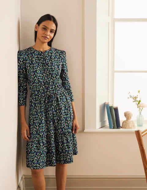 Nancy Tiered Jersey Dress