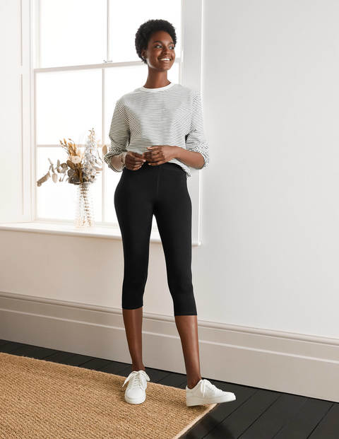 Favourite Cropped Legging 2 Pk - Black