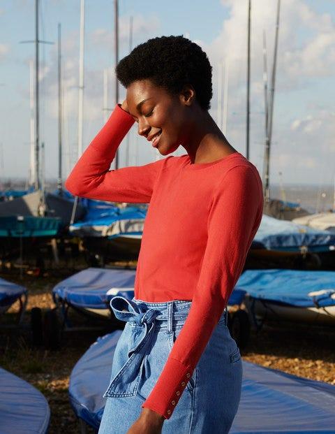 Eldon Sweater - Cherry Red