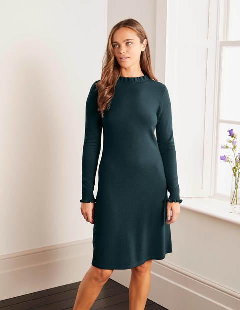 Lara Knitted Dress - Midnight Garden