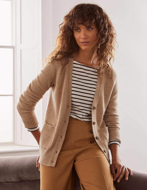 Kew Cashmere Relaxed Cardigan
