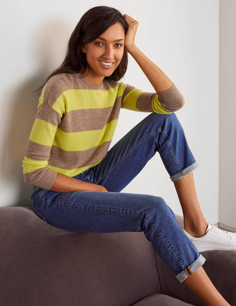 Chatham Stripe Cashmere Jumper