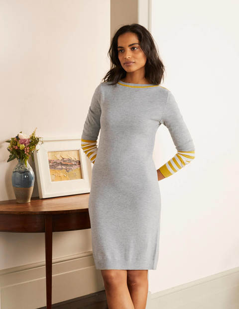 Alba Dress - Grey Melange