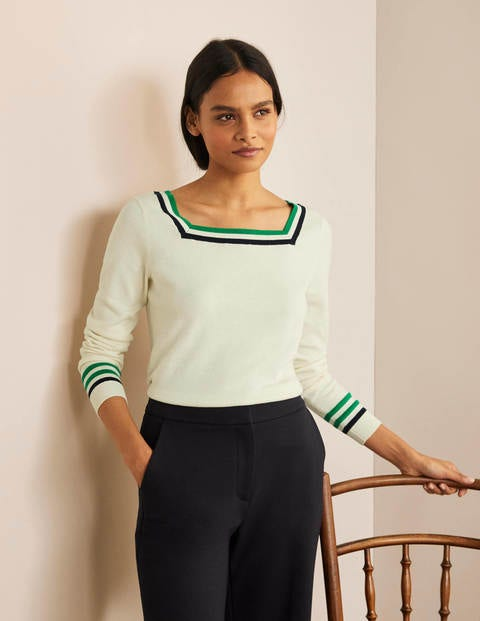Melville Square Neck Jumper