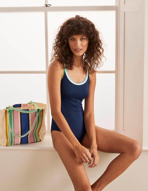 Serifos Swimsuit - French Navy