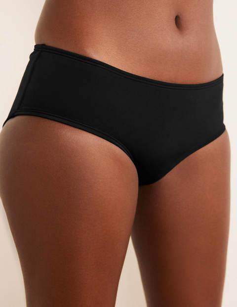 Amalfi Bikini Shorts - Black