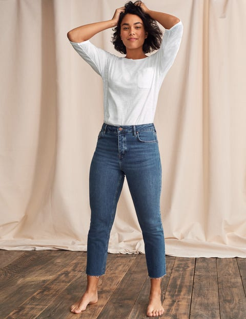 Relaxed Straight Jeans - Mid Vintage