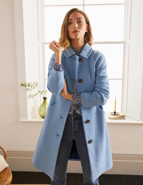 Hatfield Coat - Hazy Blue