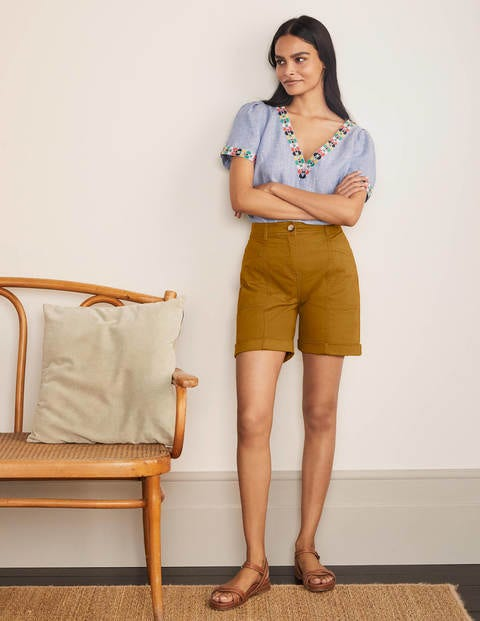 Abingdon Chino Shorts - Frankincense