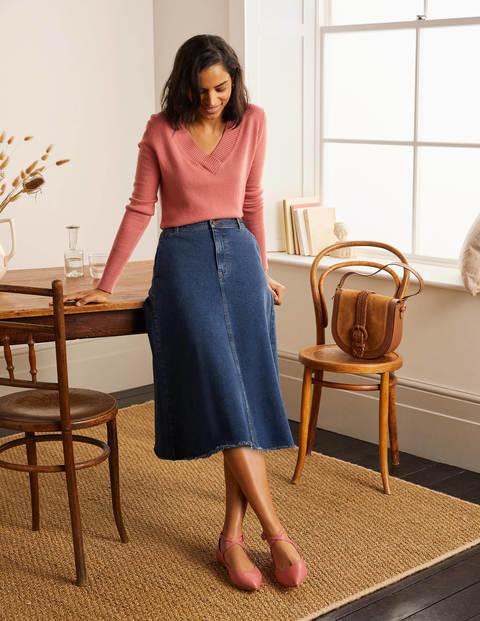 Effie Midi Skirt - Mid Vintage