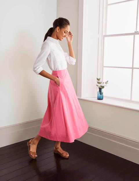 Marcia Midi Skirt - Azalea