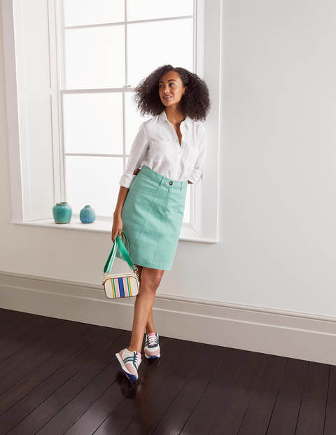Abingdon Mini Skirt - Apple Mint