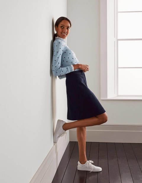 Abingdon Mini Skirt - Navy