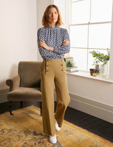 Runswick Sailor Trousers - Camel