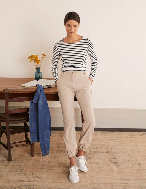 Gowrie Chino Pants - Linen