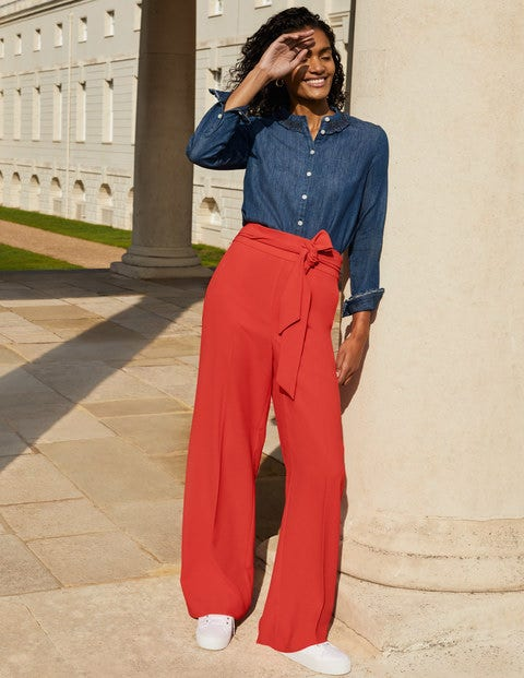 Allendale Pants - Cherry Red