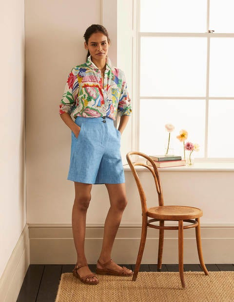 Cornwall Linen Shorts