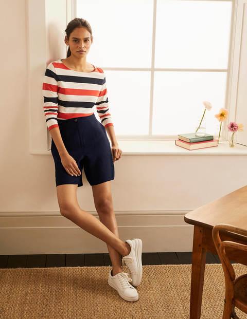 Cornwall Linen Shorts - Navy
