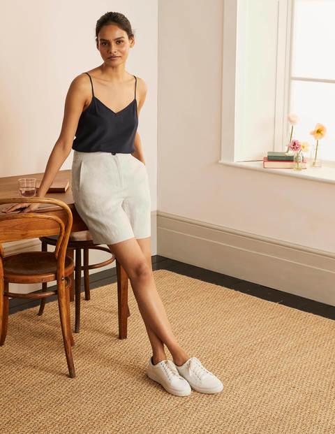 Cornwall Linen Shorts - Natural
