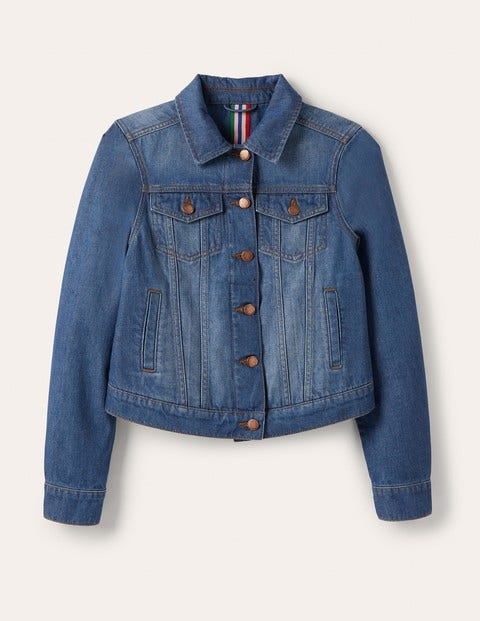 Authentische Denim-Jacke