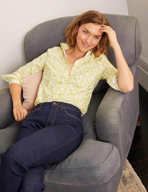 Modern Classic Shirt - Chartreuse, Daydream