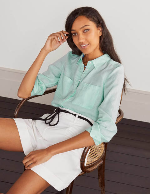 Linen Shirt - Spearmint
