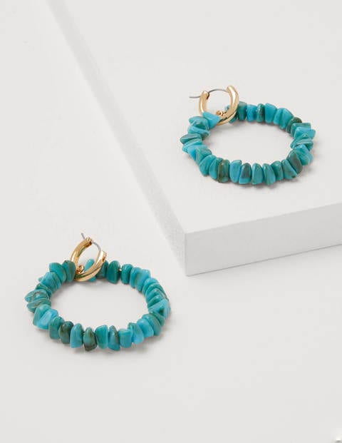 Bead Ring Hoops